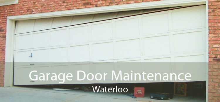 Garage Door Maintenance Waterloo