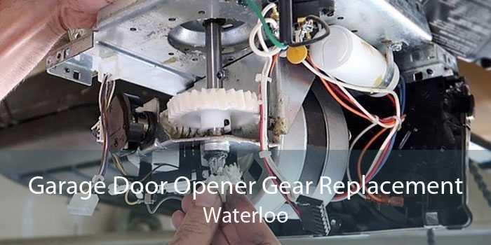 Garage Door Opener Gear Replacement Waterloo
