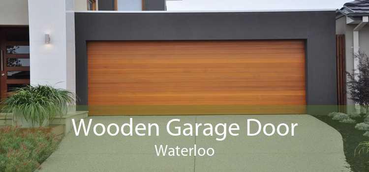 Wooden Garage Door Waterloo